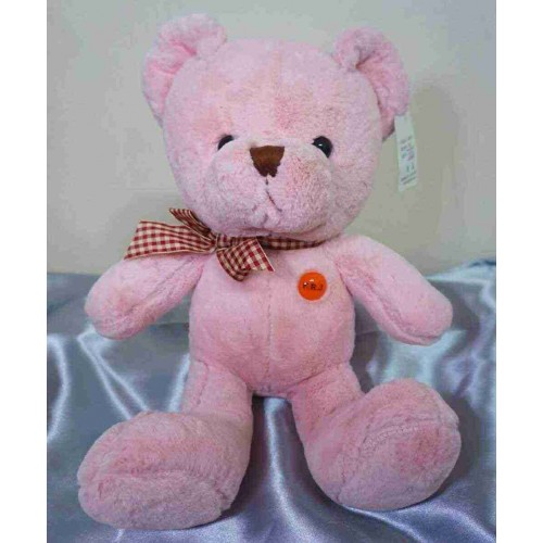 Pink Teddy Bear - Medium Size